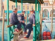 Gondolieri  (Venice) (2004)