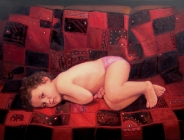 Anna on the Red Quilt (2007)